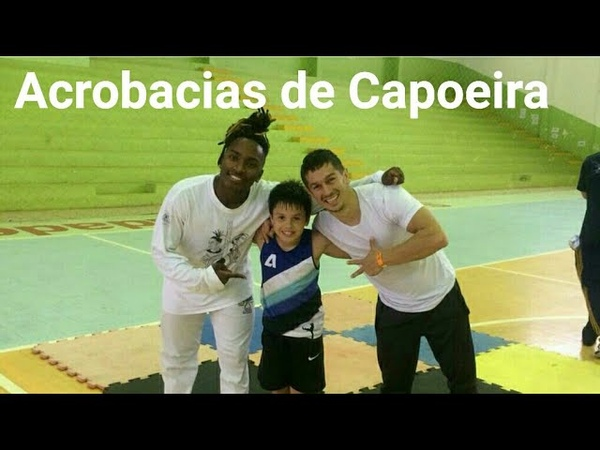 Acrobacias de Capoeira