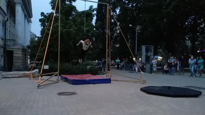 Александра Мануковская воздушное кольцо хореография Щепилова Анна