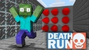 Monster School : DEATHRUN CHALLENGE - Minecraft Animation