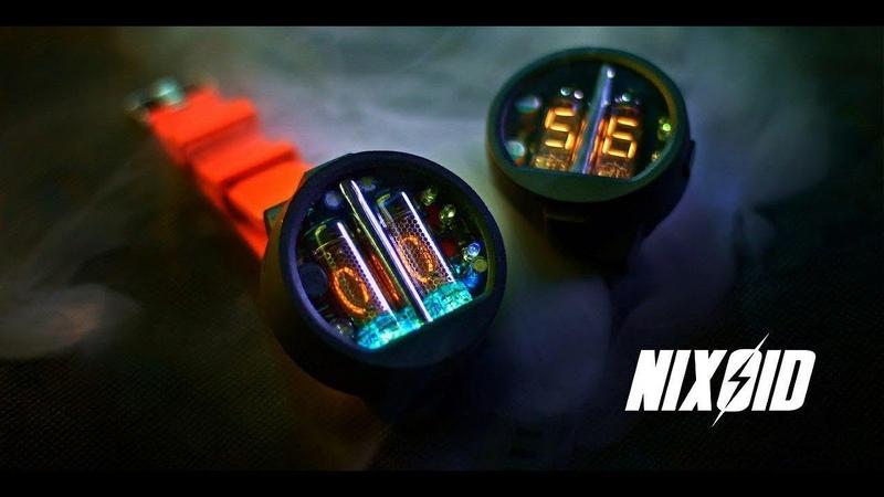 Уникальные ламповые часы ИН-16