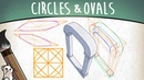 How to draw CIRCLES and OVALS in PERSPECTIVE - Mink's Tutorials