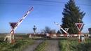 Spoorwegovergang Tinglev (DK) Railroad crossing Jernbaneoverskæring
