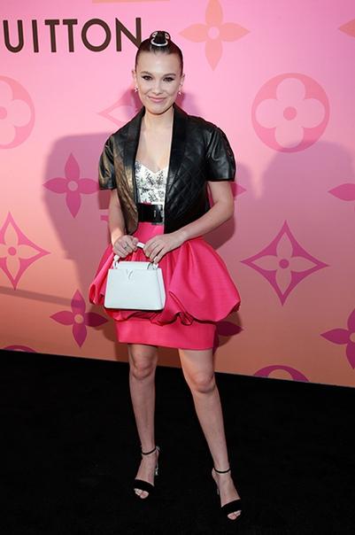 Миранда Керр, Орландо Блум, Алисия Викандер и другие на вечеринке в Лос-Анджелесе Вчера в Лос-Анджелесе прошла закрытая вечеринка по случаю открытия новой выставки Louis Vuitton, которую