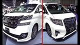 Best LUXURY VANs Toyota Alphard VS Toyota Vellfire 2016, 2017 model, almost similar but so different