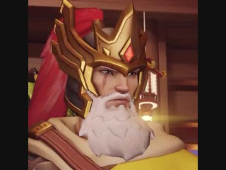 Marked by the dragon. - - Snipe down flag runners as HUANG ZHONG HANZO. - - Overwatch Luna