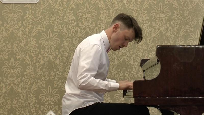 Андрей Андреев, концерт в СПб МШ им. Римского-Корсакова. Прокофьев - Соната №4