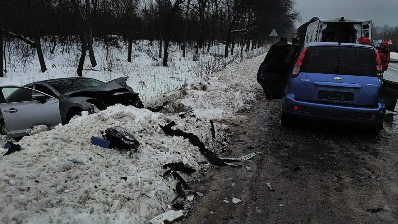 В Славянском районе два человека пострадали из-за ДТП (фото)