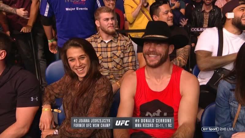 👊 Мельбурн Йоанна Енджейчик Д Серроне Г Сехудо UFC 234 Joanna Jedrzejczyk