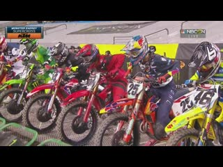 #amasupercross2019 #seattle   sx450 main event