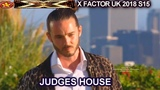 Ricky John sings When A Man Loves A Woman The Overs Judges House X Factor UK 2018