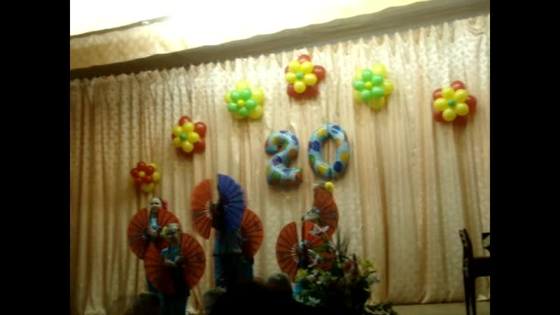20 лет Школе искусств микрорайона Лоста г.Вологды ( фрагменты юбилейного концерта ,2012 г.)