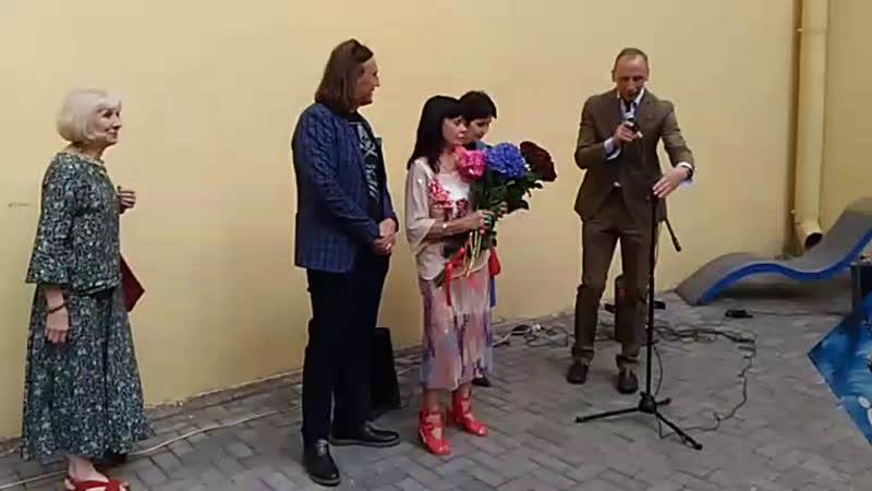 Открытие выставки Жизнь как метафора московских художников Татьяны Назаренко Алексея и Игоря Новиковых в МИСП