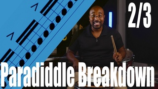 Paradiddle Breakdown 2/3