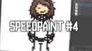 (commision) Undertale sprite ✦ Frisk | SpeedPaint pixel-art