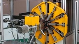 The Most Satisfying Automatic Winding Machine At Work, Fastest Coil Wave Winding Machine