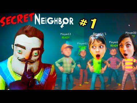 ПАПА СТАЛ СОСЕДОМ Секрет СОСЕДА Hello Secret Neighbor ПРИВЕТ СОСЕД Валеришка Для детей kids children