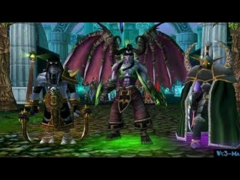 Иллидан VS Маев (Кто, кого) - WarCraft 3 - Тени Ненависти (Гнев Предателя ) Demo1