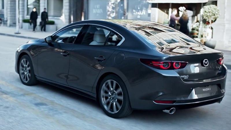 2019 Mazda3 sedan and 2019 Mazda3 Hatchback introducing