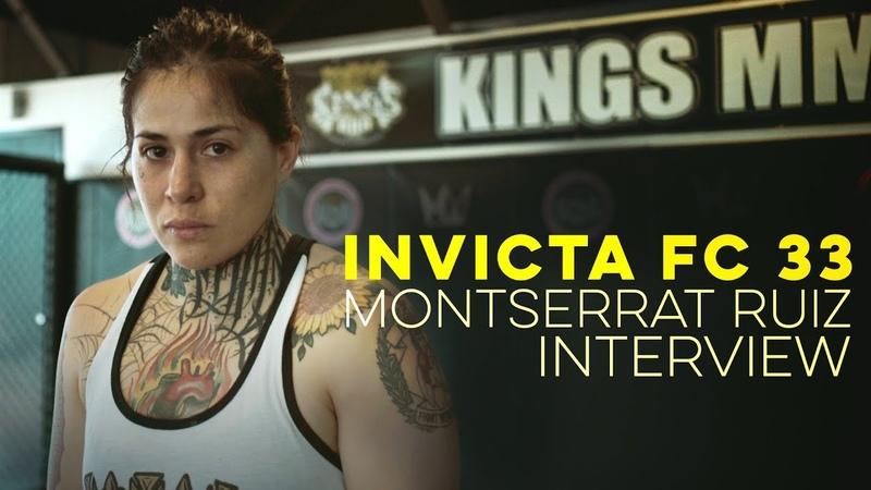 Invicta FC 33: Montserrat Ruiz Interview