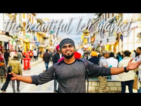Leh main market vlog Day1 Ladakh trip