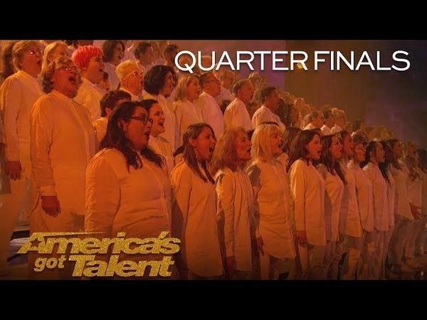 Angel City Chorale Powerful Choir Sings This Is Me - Americas Got Talent 2018