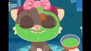 Beauty salon for animals. Manicure for sloth, make up for cat. Video for kids. Play game