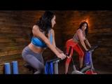 Ariella Ferrera &amp Reagan Foxx HD 1080, Big Tits, Brunette, Latina, Lesbian, MILF, porn 2018