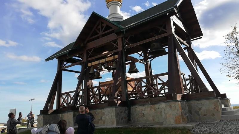 Звон колоколов в Белогорский монастыре - 16.09.2018