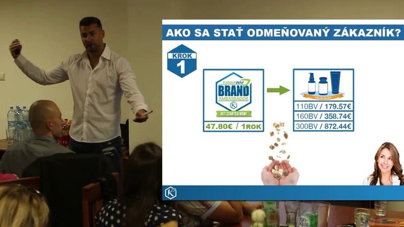 Juraj Mojžiš Kannaway Poprad 12.9.2018 marketing 1.časť