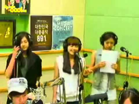 HQ Audio【APink】 EunjiNamjooHayoung - Blue Rain(FINKL)@110712 SJs kiss the radio