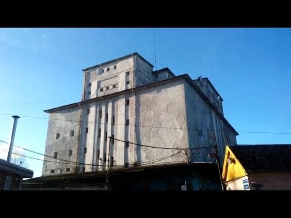 Кёниг-71. Холодильник и Фабрика Льда в Кёнигсберге. Разводной немецкий мост через Прегель