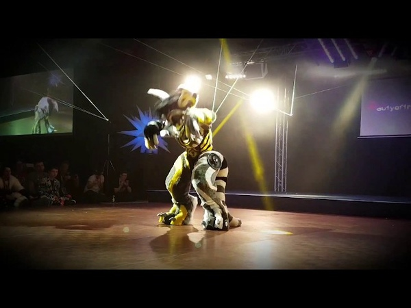 Confuzzled 2018 - Fursuit Dance Competition - Beauty of the Bass (NEW SUIT!)