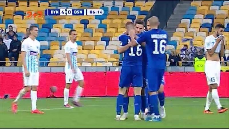 Динамо - Десна - 40. Кияни перервали безвиграшну серію на НСК Олімпійський