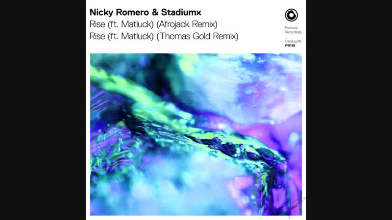 My remix for Nicky Romero Stadiumx - Rise is out now on Protocol Recordings