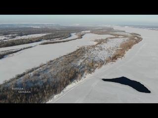 Река Волга в районе спуска Лейтенанта Шмидта