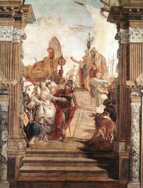 Джованни Баттиста Тьеполо (5 марта 1696, Венеция 27 марта 1770, Мадрид) Крупнейший западноевропейский художник XVIII века, венецианец, которому было суждено завершить итальянскую традицию