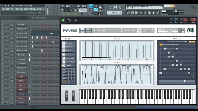 Continium Nightmare FL Studio 12 xplaybox DNB