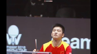 FAN Zhendong () vs CALDERANO Hugo () - World Tour Grand Finals 2018 table tennis