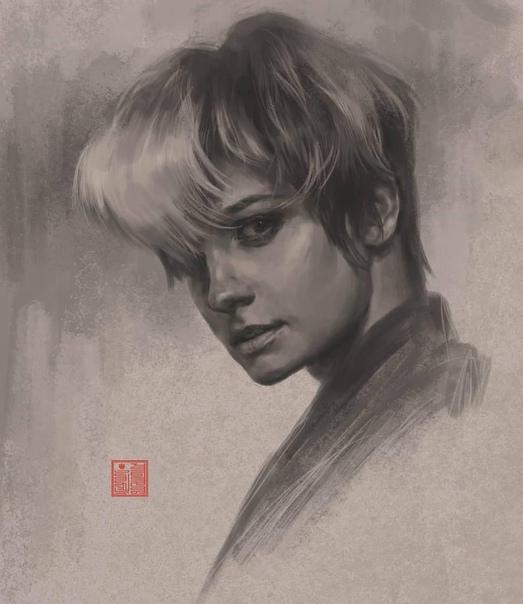 Полина Максимова получила в подарок портрет от подписчика!