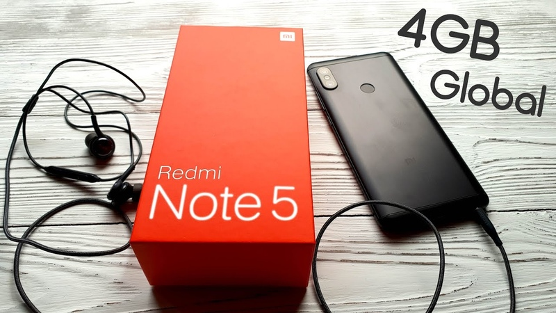 Отзыв о Xiaomi Redmi Note 5 Бюджетник на фоне флагмана.