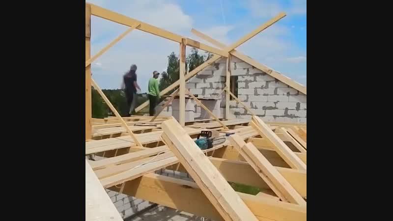 Принципиальный монтаж строительно системы