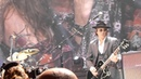 Aerosmith with Izzy Stradin Of GnR close up, Staples Center 12-3-12