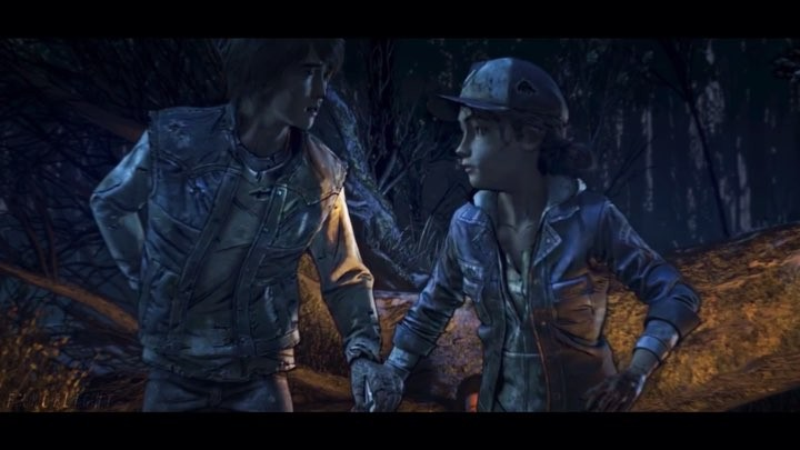 """~ Liah on Instagram: """"❗️CONTAINS SPOILERS OF TWDG:TFS EP 3❗️ • Honestly I love their friendship so much, (I also shipped them a bit, until he revea..."""