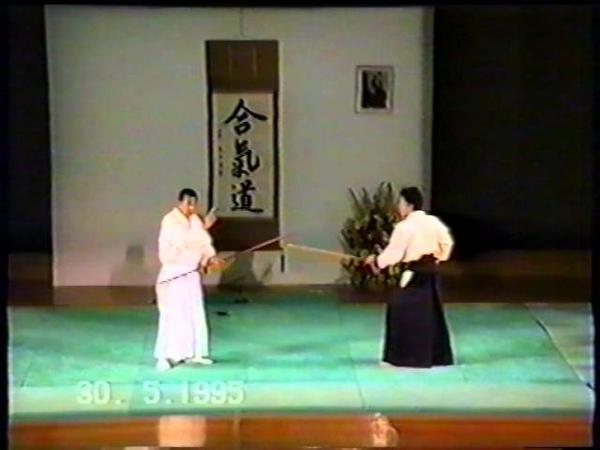 Aikido Michio Hikitsuchi Sensei, Unesco 1995 Paris - Part 2