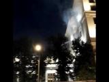 Пожар в здании ЦБ