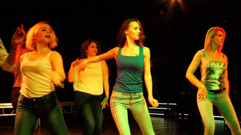 Латиноамериканские танцы. Выступление на Танцевальной Вечеринке Ренессанса, 9 декабря 2018 год