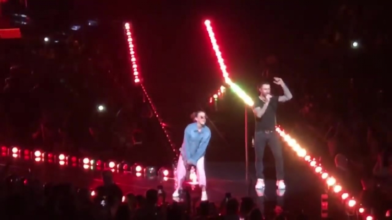 Maroon 5 - Girl Like You Bridgestone Arena Nashville 24.09.2018
