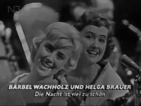 Die Nacht Ist viel Zu schön Barbel Wachholz and Helga Brauer.1956 г.