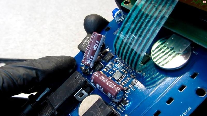 Ремонт Critical CX-2 G2 - конденсатор с КЗ
