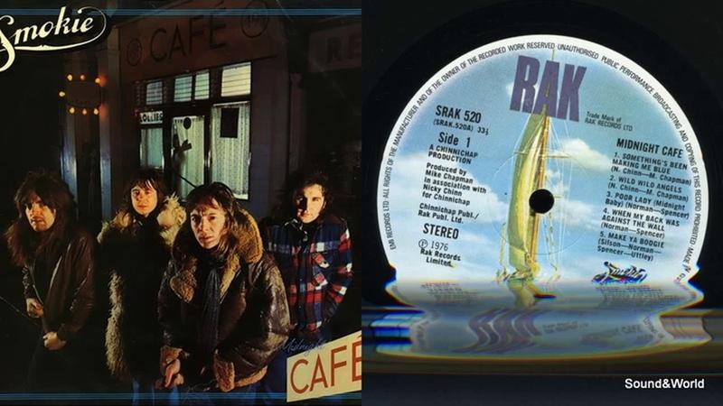Smokie – Midnight Café (Vinyl, LP, Album) UK 1976.